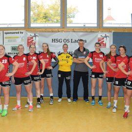 1. Damen – Tolle Moral sichert Punkt in Nordhorn