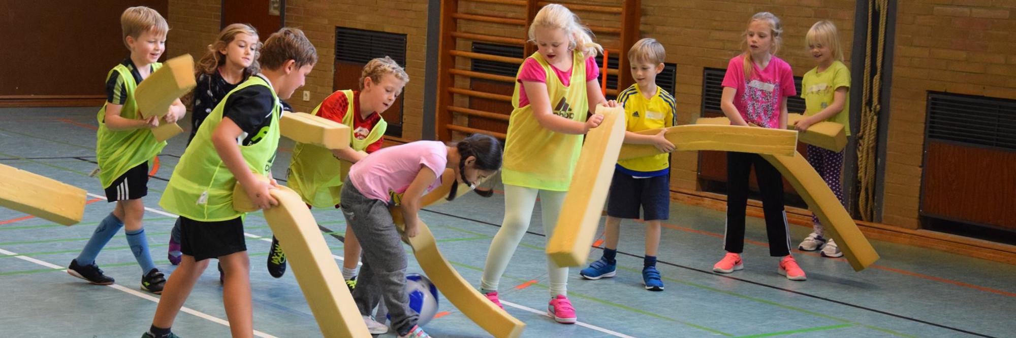 HSG beim Grundschulaktionstag in Hellern